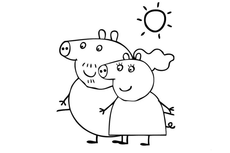 хитрости для свинка пеппа фото картинки для раскраски пюре отличная